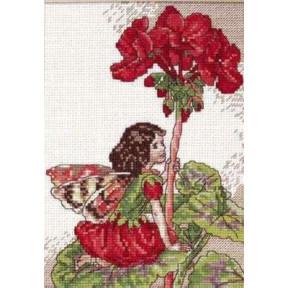 Набор для вышивания крестом DMC K4987 Geranium fairy