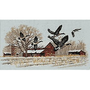 Набор для вышивания  Dimensions 13732 Winter Geese