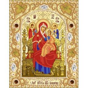 НИК-5321 Набор для вышивания бисером Марічка Икона Божией