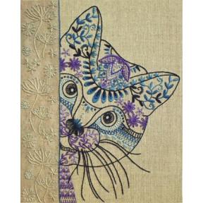 Набор для вышивания нитками (декоративные швы) Марічка НКШ-4011
