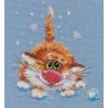 Набор для вышивки крестом Алиса 0-85 Первый снег фото