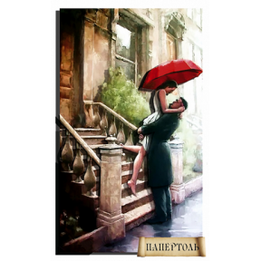 """Картина из бумаги Папертоль РТ150036 """"Встреча на крыльце"""""""