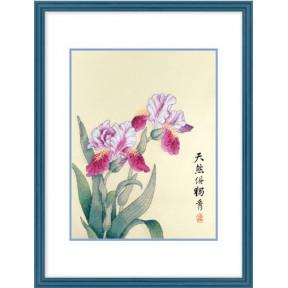 Набор для вышивки крестом XIU CRAFTS 2801303 Ирисы фото