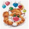 Набор для вышивки крестом Алиса 0-82 С Днем Рождения! фото
