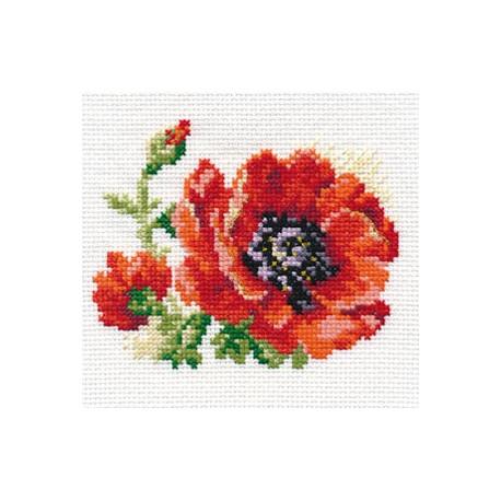 Набор для вышивки крестом Алиса 0-80 Мак фото