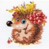 Набор для вышивки крестом Алиса 0-75 Осенний ежонок фото