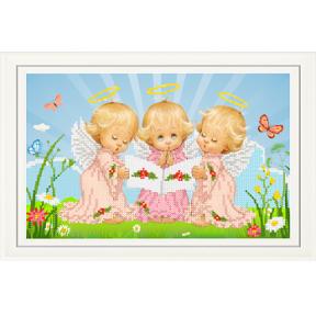 """Набор для вышивания бисером Tela Artis НТМ-025-1  """"Почти идеальный (девочка)"""""""