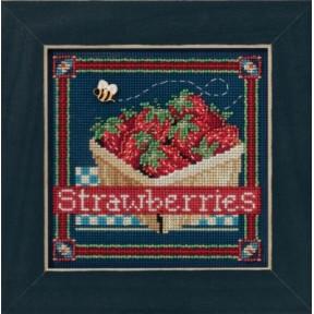 Набор для вышивания Mill Hill MH141613 Strawberries
