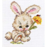 Набор для вышивки крестом Алиса 0-58 Зайка фото