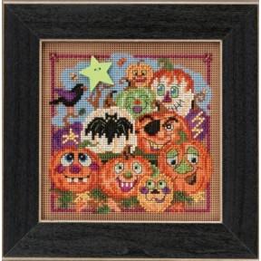 Набор для вышивания Mill Hill MH145206 Painted Pumpkins