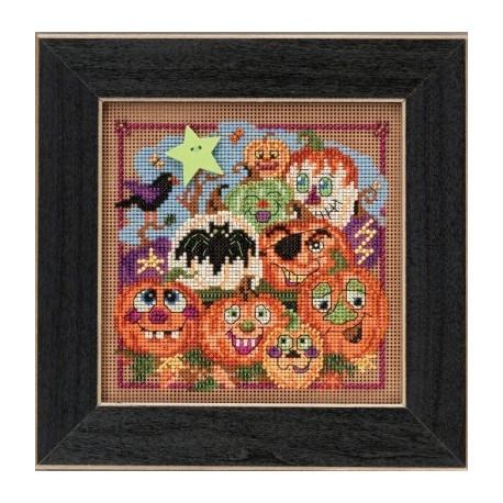 Набор для вышивания Mill Hill MH145206 Painted Pumpkins фото