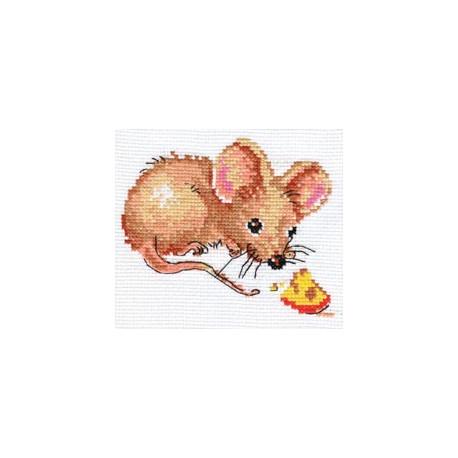 Набор для вышивки крестом Алиса 0-52 Мышонок фото