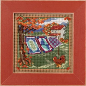 Набор для вышивания Mill Hill MH141621 Country Quilts