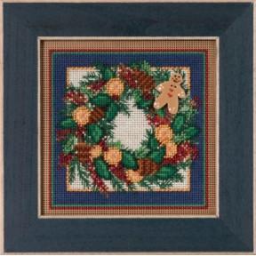 Набор для вышивания Mill Hill MH145304 Spiced Wreath