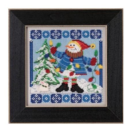 Набор для вышивания Mill Hill MH145303 Mr. Jack Frost фото