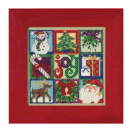 Набор для вышивания Mill Hill MH145301 Joy of Christmas фото