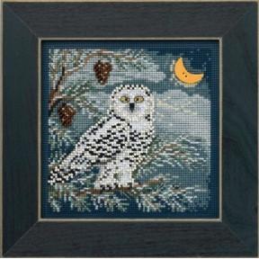 Набор для вышивания Mill Hill MH144304 Snowy Owl