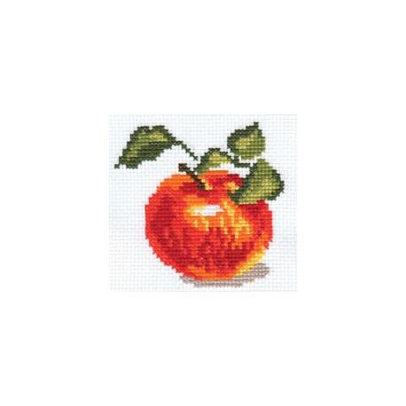 Набор для вышивки крестом Алиса 0-49 Яблочко фото