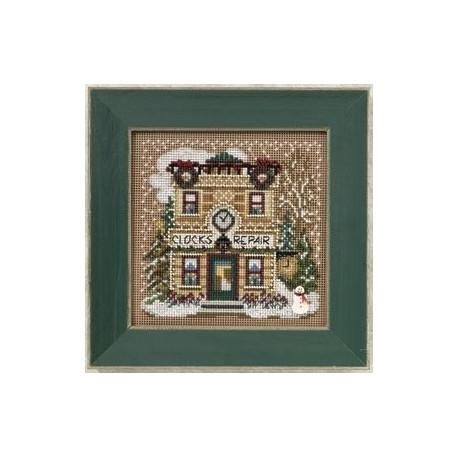 Набор для вышивания Mill Hill MH140302 Clock Shoppe фото