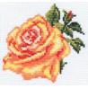 Набор для вышивки крестом Алиса 0-41 Роза фото