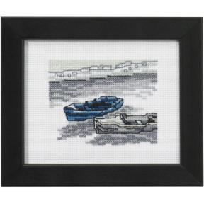 Набор для вышивания Permin 14-0135 2 boats