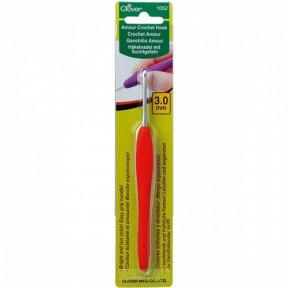 Крючок для вязания 1052-3.0 Clover(Япония)