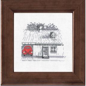 Набор для вышивания Permin 14-7114  Garage/car