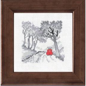Набор для вышивания Permin 14-7113 Wood/car