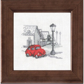 Набор для вышивания Permin 14-7111 Street/car