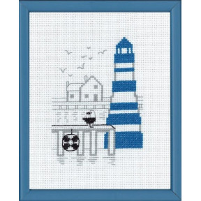 Набор для вышивания Permin 13-7122 Blue lighttower