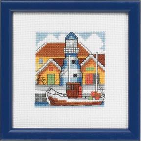 Набор для вышивания Permin 14-5194 Harbour blue
