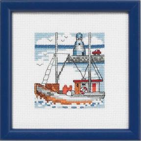 Набор для вышивания Permin 14-5193 Blue lighthouse