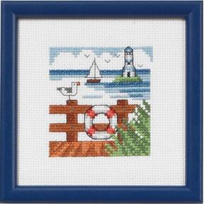 Набор для вышивания Permin 14-5191 Pier