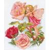 Набор для вышивки крестом Алиса 2-07 Фея розового сада фото
