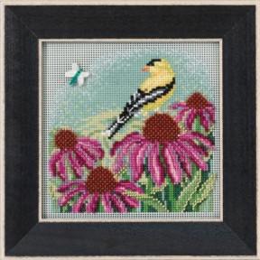 Набор для вышивания Mill Hill MH141712 Goldfinch