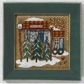Набор для вышивания Mill Hill MH146306 Tree Farm