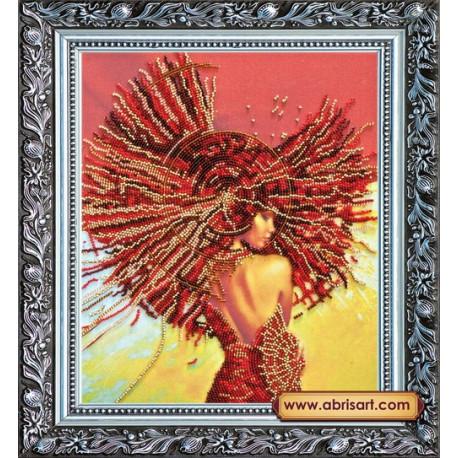 Набор для вышивания бисером Абрис Арт АВ-166 Вивьен фото