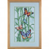 Набор для вышивания Dimensions 35120 Butterflies and Bamboo фото