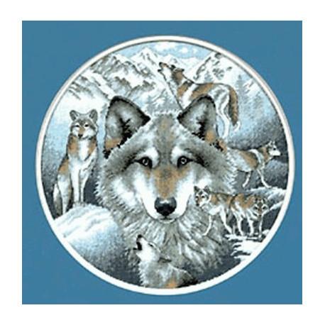 Набор для вышивания Dimensions 35084 Call of the Wolf фото