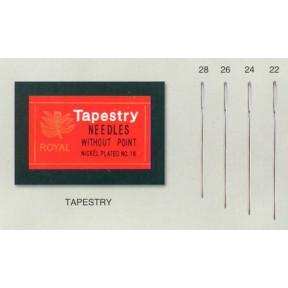 Иглы для вышивания Royal Tapestry(25 шт) RT24