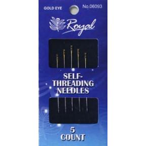 Набор легковдеваемых игл для шитья Royal (5 шт) 06093