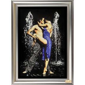"""Набор для вышивания бисером Tela Artis НС-001т """"Страстные танцы 1"""""""