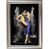 """Набор для вышивания бисером Tela Artis НС-001т """"Страстные танцы"""