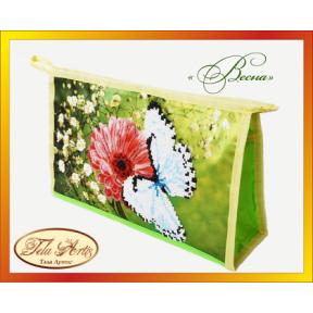 Набор для вышивания бисером косметичка Tela Artis К-007т Весна