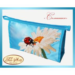 Набор для вышивания бисером косметичка Tela Artis К-008т Солнышко
