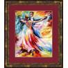 Набор для вышивки Золотое Руно ЧМ-021 Танец любви фото