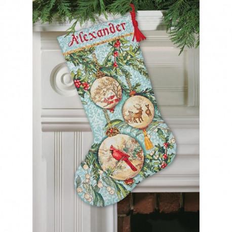 Набор для вышивания Dimensions 70-08854 Enchanted Ornaments фото