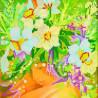 Схема для вышивания бисером Абрис Арт АС-006 Девушка-Весна фото