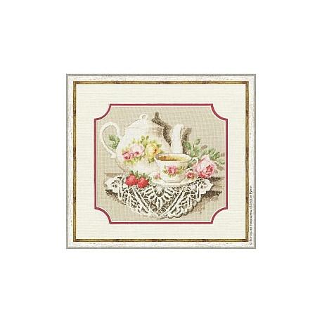 Набор для вышивки Золотое Руно СЖ-017 Чайное соло фото