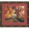 Набор для вышивки Золотое Руно ГМ-015 Блюз падающей листвы фото